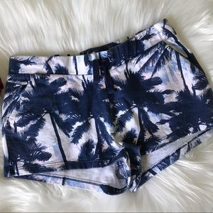 3/$20 H&M Tropical Print Knit Pull on Shorts